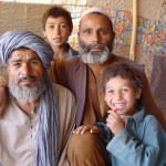This family used to be nomads, but they lost their animals due to drought and illness. Now they live in a tent on the outskirts of Kabul. Photo: Jens Kjær Jensen, 2003