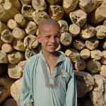 """""""I came back to Kabul after five years in Pakistan. Now I work in a carpentry firm. My dad says I'll start school next year. I look forward to that"""". Photo: Jens Kjær Jensen, 2003"""