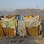 Kabul is surrounded by mountains, visible in the background. Photo: Jens Kjær Jensen, 2003