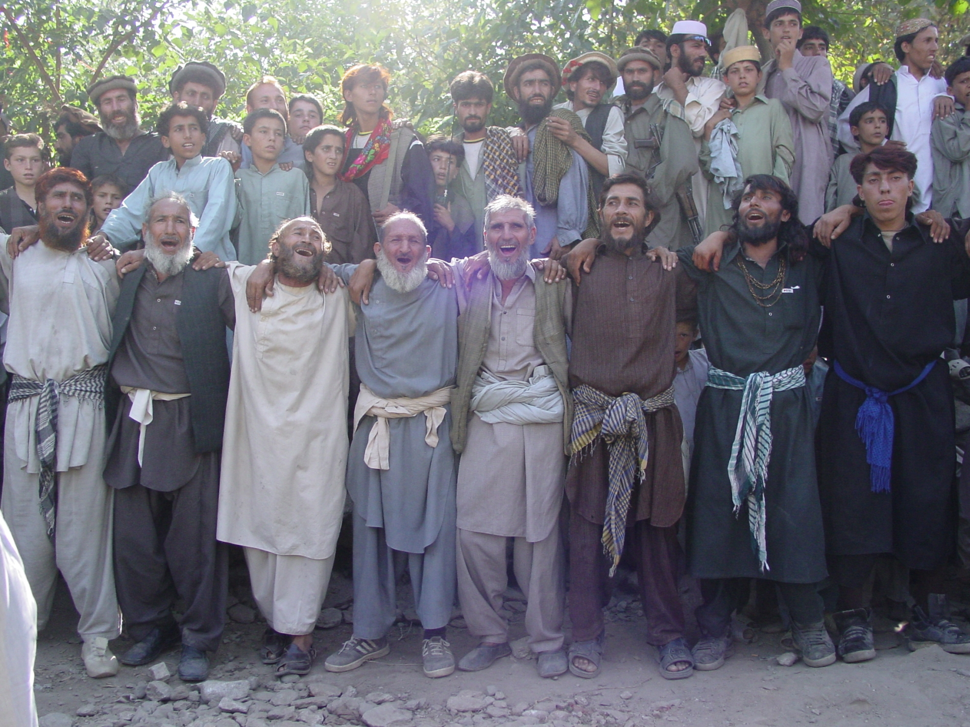 An Afghan wedding celebration can have hundreds of guests and is an expensive affair. Photo: Jens Kjær Jensen, 2003