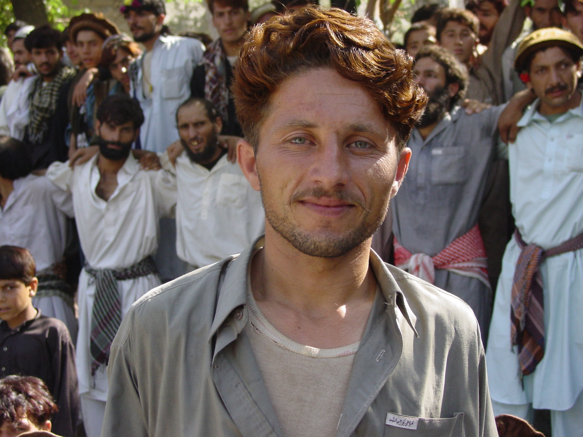 This is Masood – the groom to be. For seven years he has been saving up for the bride price and the celebration, but still he has been forced to borrow money from his parents. Photo: Jens Kjær Jensen, 2003