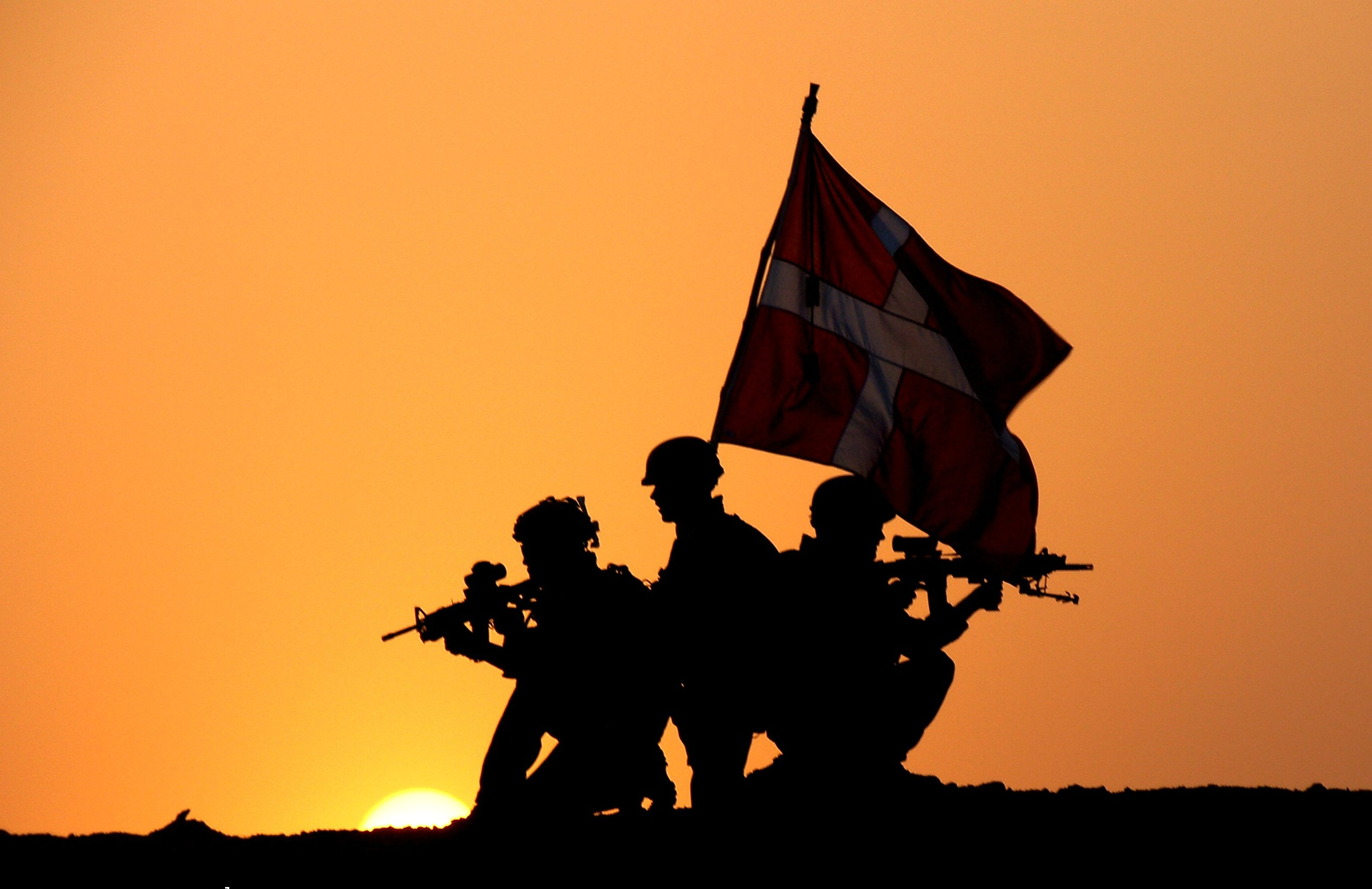 A hero shot. Photo: HOK – the soldiers' photos, 2008
