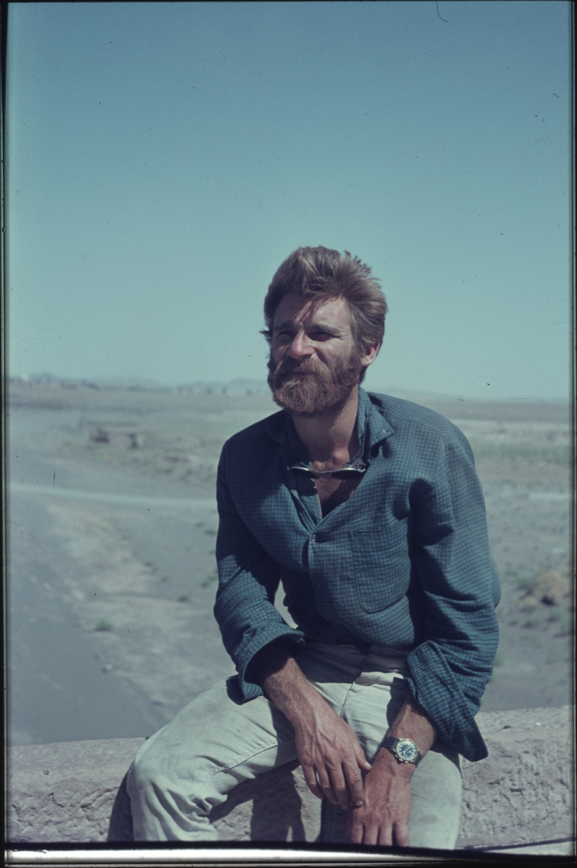 Jean in Afghanistan. Photo: Daniella Bourgeois, 1968