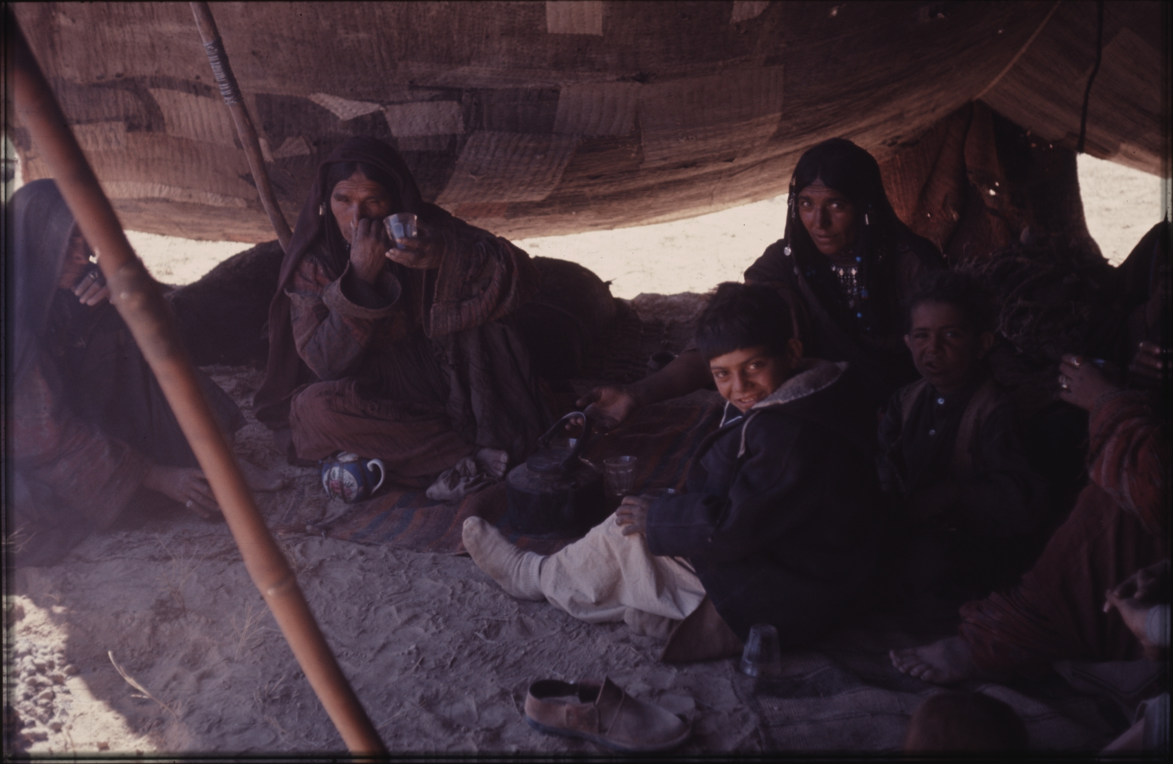 Women are usually highly respected in nomadic societies. Photo: Jean Bourgeois, 1969