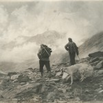 Klaus Ferdinand and Lennart Edelberg on their way to Nuristan. Photo: the Moesgaard Museum archives, 1953-'55