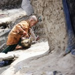 Access to clean drinking water has improved in Afghanistan, but some still have to collect water from rivers and streams. That can be a health hazard, as the water is often polluted. Photo: Lars Schmidt, 2010-'13