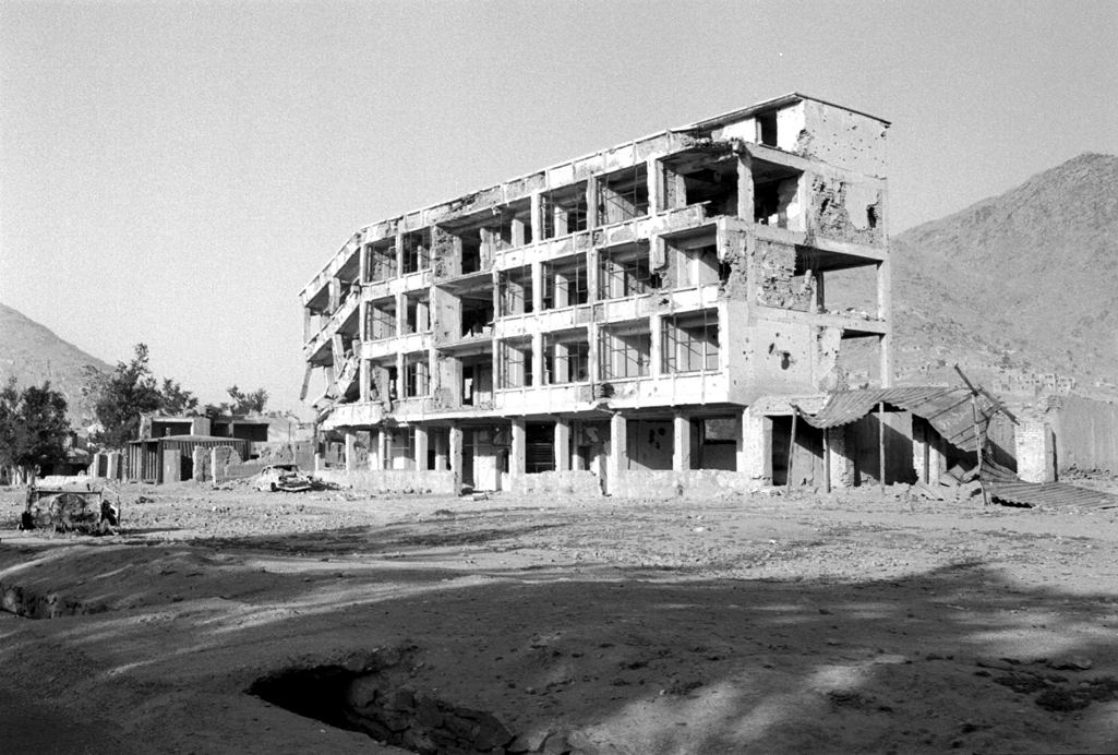 Much of Kabul was destroyed during the civil war. Photo: Moesgaard Museum