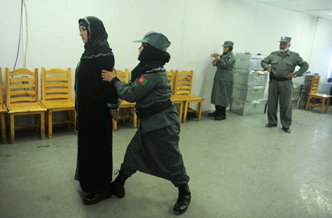 Women entering the police force or another public office risk to pay with their lives. Photo: UNAMA/AFGHAN EYES
