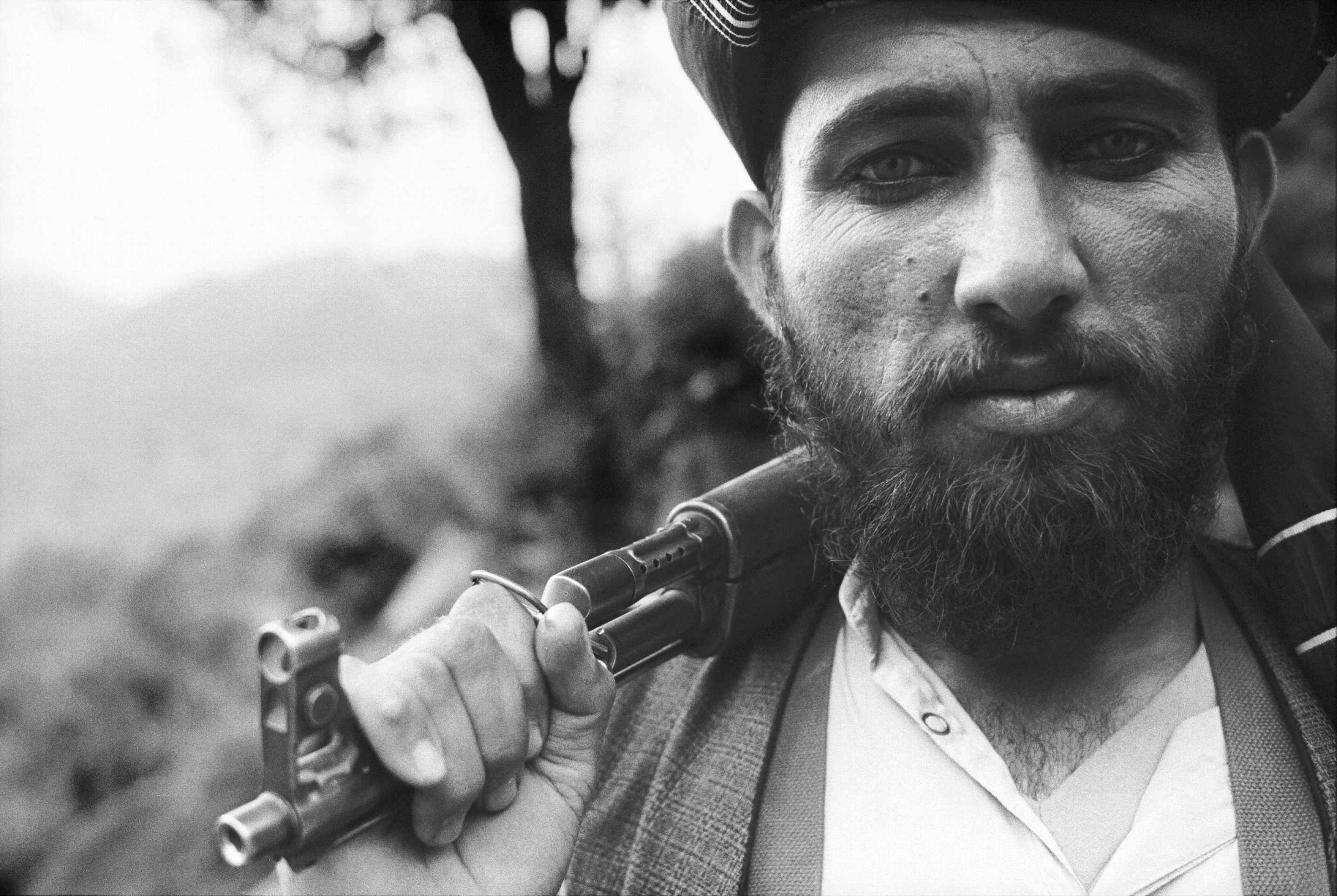 Taliban warrior. Photo: H.C. Jacobsen, 1997