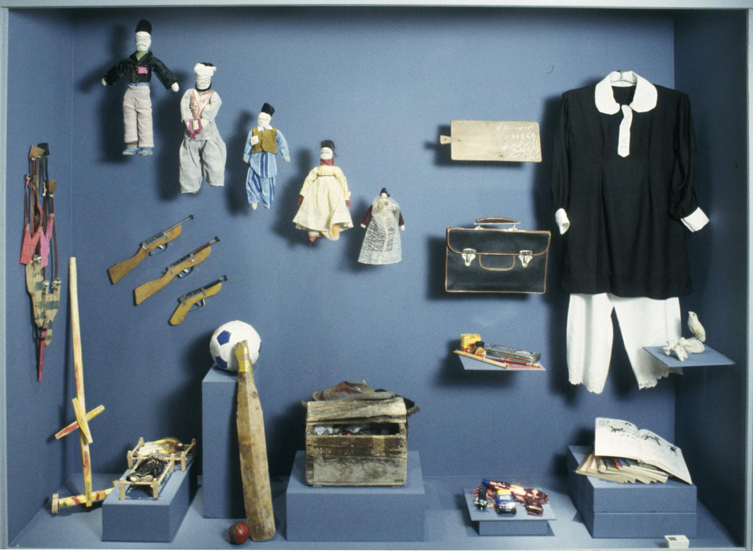 Homemade toys. Photo: Moesgaard Museum