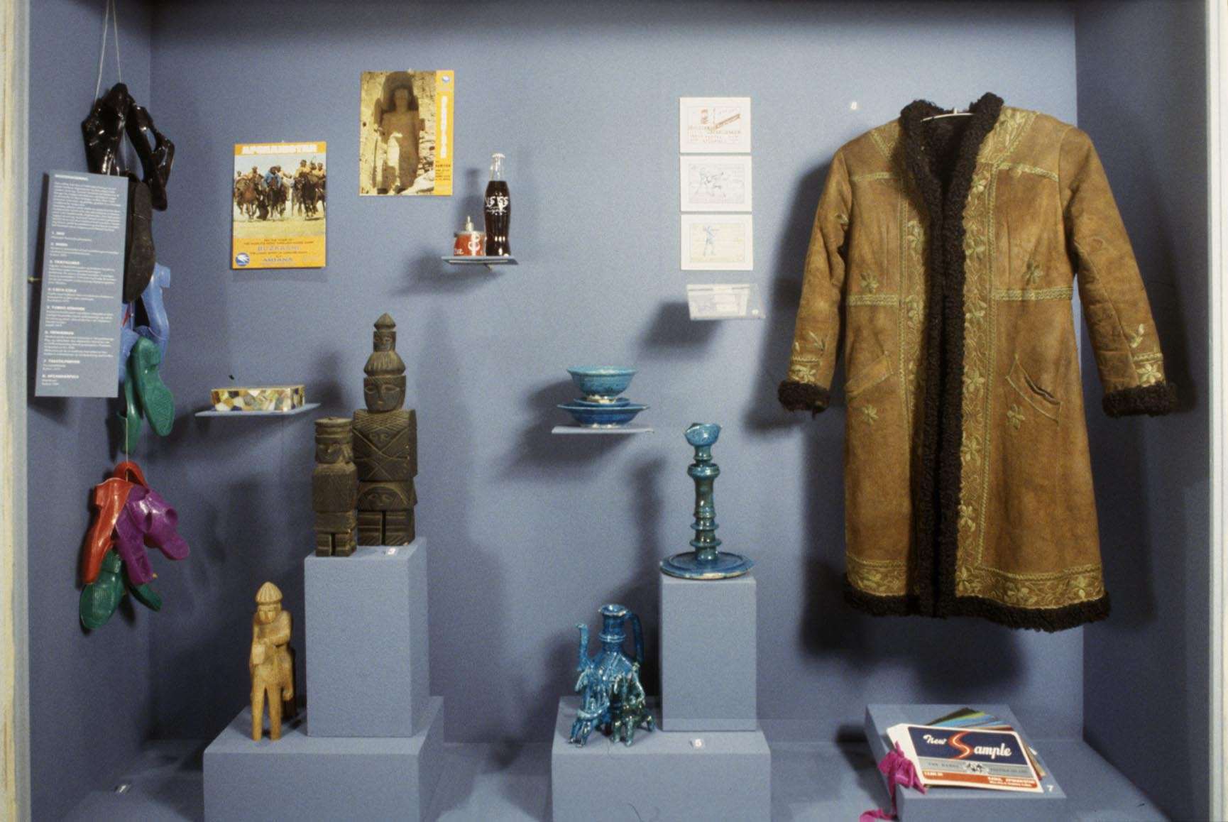 Many of the people visiting the exhibition had themselves worn an Afghan coat back in the 1970s. Back then, many hippies travelled to Afghanistan. Photo: Moesgaard Museum