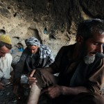 A group of men smoking heroin in a cave in the Farah Province. Islam prohibits the use of euphoriants and many Afghan drug addicts are deeply ashamed of their habit. But they are very alone: a UN study from 2009 reported that 90 percent of Afghanistan's addicts felt a need for treatment, but only 10 percent had access to it. Photo: UN Photo/Eric Kanalstein, 2012