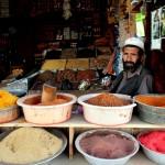 Paint vendor. Photo: Tahir Bakhtiary, 2013