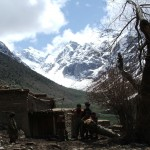 At the foot of the Hindu Kush. The mountain range is the western outlet of the Himalayas. Photo: HOK – the soldiers' photos, 2008