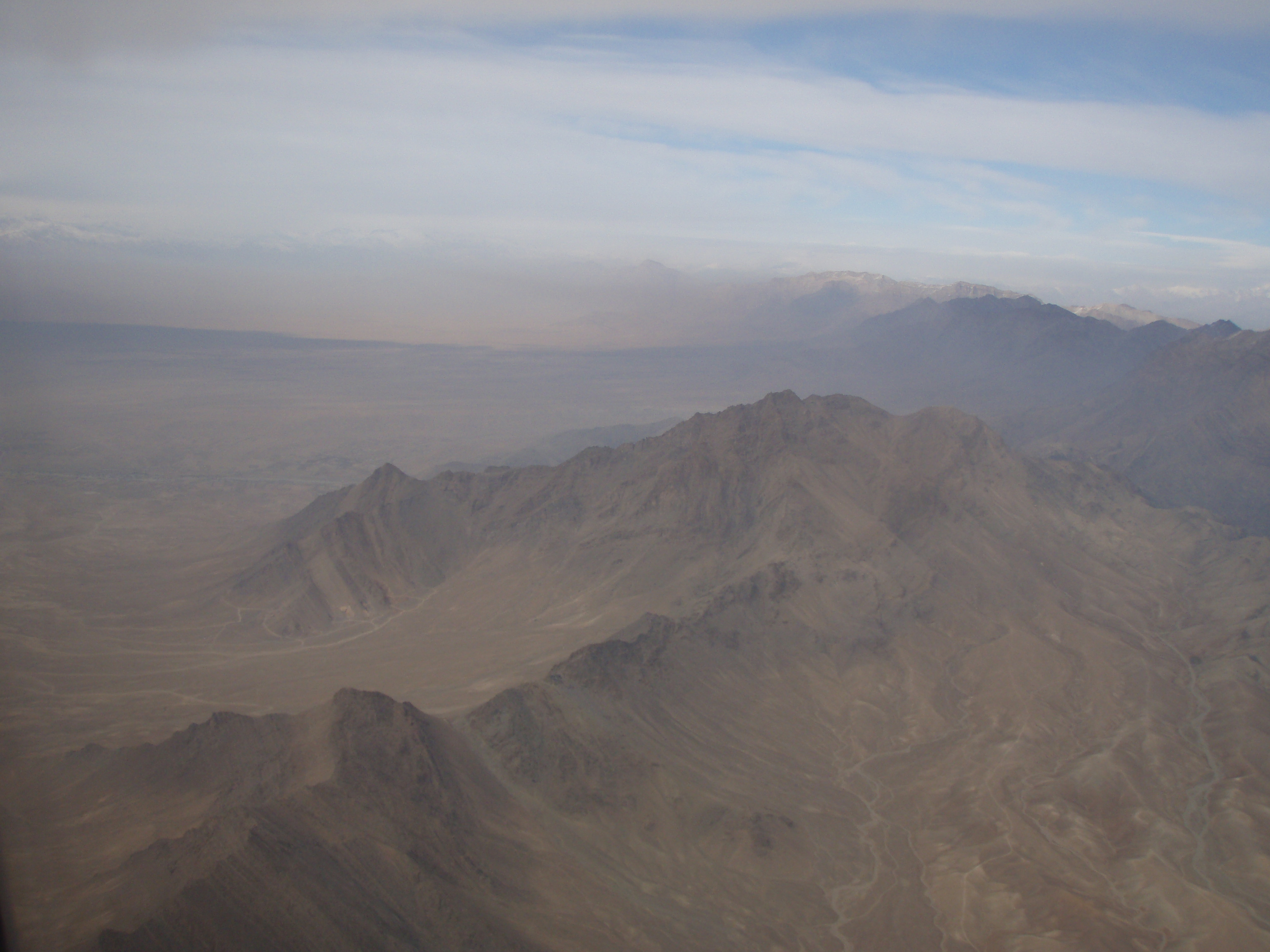 The many mountains in Afghanistan made it easy for the insurgents to hide. Feyzabad, northern Afghanistan. Photo: HOK – the soldiers' photos, 2008