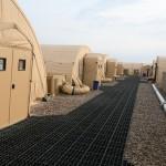 Barracks in Camp Bastion. Photo: HOK/Per A. Rasmussen, 2008