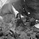 The Third Danish Expedition to Central Asia was also dedicated to studying nomads. Photo: the Moesgaard Museum archives, 1947-'50