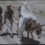 In the 1950s, the burqa was commonplace in Afghanistan. It was particularly used by the women from the countryside when they had to go to town. The Henning Haslund-Christensen Memorial Expedition, 1953-'55. Photo: the Moesgaard Museum archives
