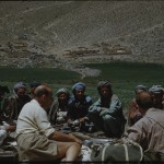 Prince Peter and Klaus Ferdinand conversing with a group of peasants, Hazaarajad 1955. The Henning Haslund-Christensen Memorial Expedition, 1953-'55. Photo: the Moesgaard Museum archives