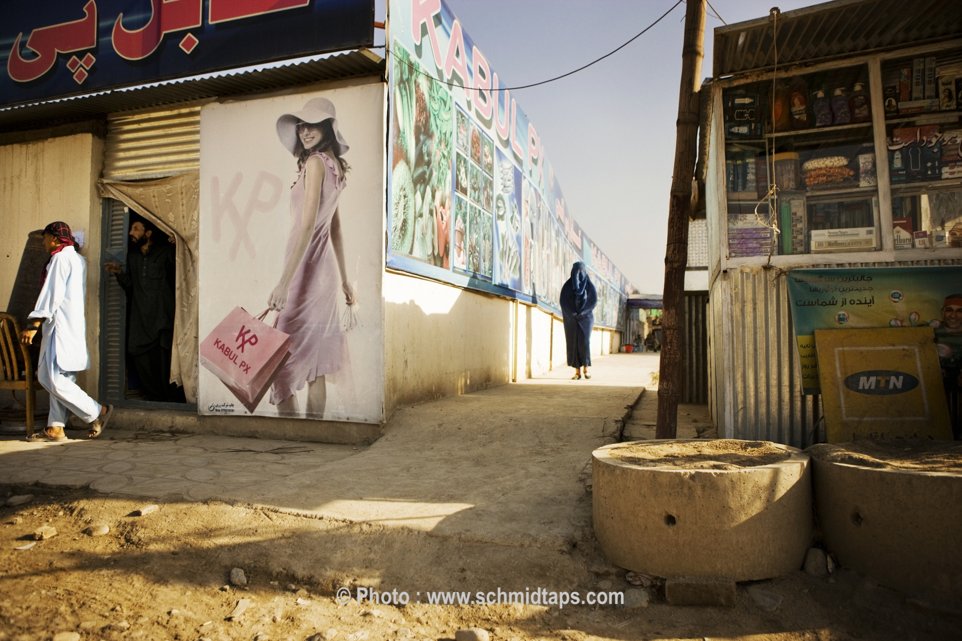 The modern and the traditional meet in Afghanistan. Photo: Lars Schmidt, 2010-'13