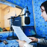 Radio stations are important in Afghanistan, as more than half the population are illiterate. Photo: Lars Schmidt, 2010-'13