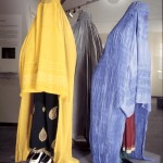 Burqas in different colours. Photo: Moesgaard Museum