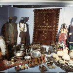 A multitude of artifacts and clothing on display. Photo: Moesgaard Museum